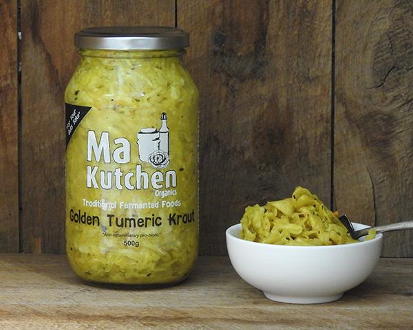 Organic Kraut Golden Turmeric