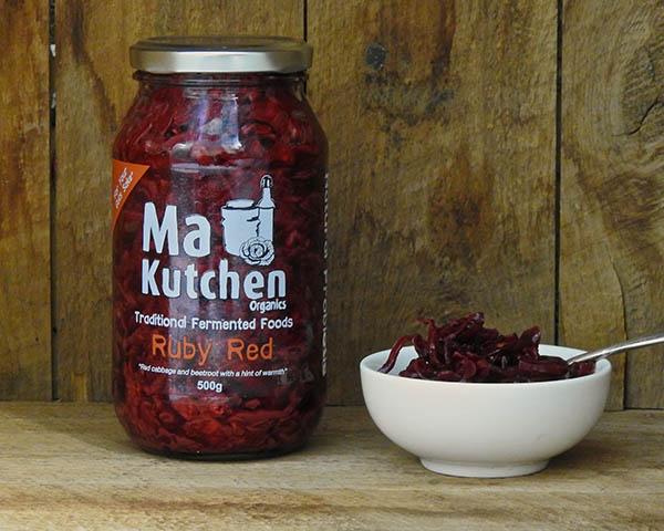 Organic Kraut Ruby Red